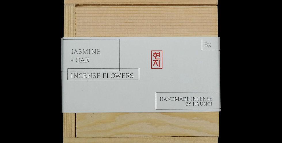 Jasmine + Oak Incense Flowers