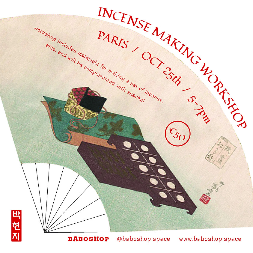 Paris Incense Making Workshop