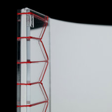 Mirror Acrylic Stab Bound Journal