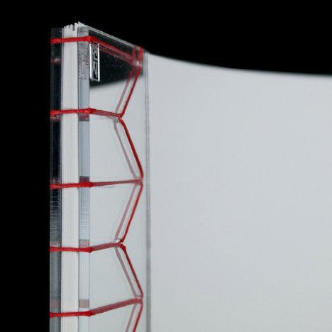 Mirror Acrylic Stab Bound Journal