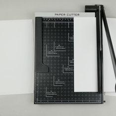 trim paper