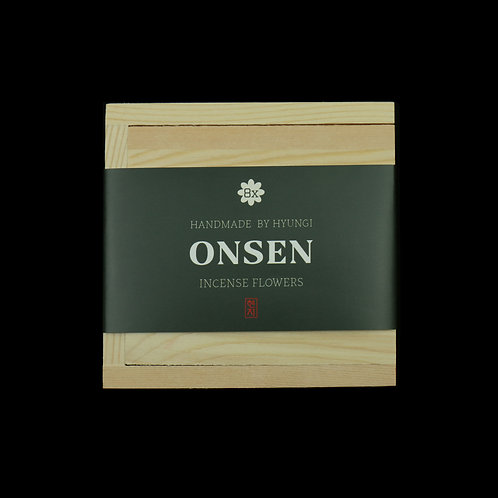 WHOLESALE: Onsen Incense Flowers