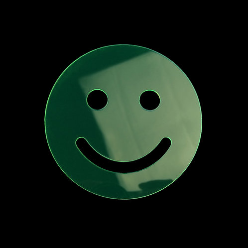 WHOLESALE: Smiley Face Acrylic Coasters (Set of Four)