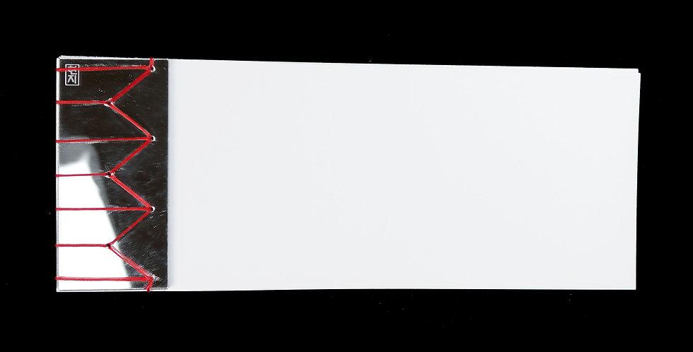 Stab Bound Mirror Acrylic Journal