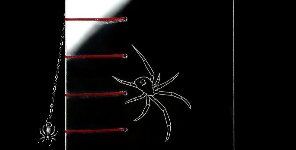 Spider Web Mirror Acrylic Journal