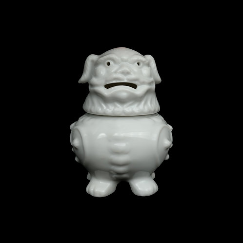 Ceramic Foo Dog Incense Burner