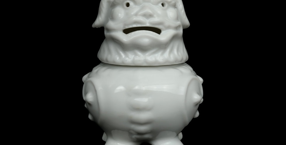 Ceramic Foo Dog Incense Burner