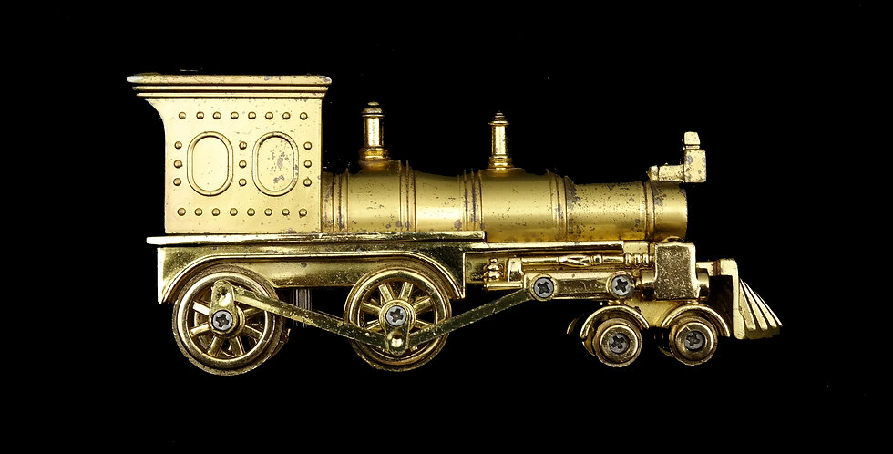 Gold Train Table Lighter