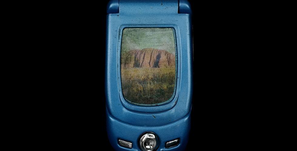 Blue Phone Lighter