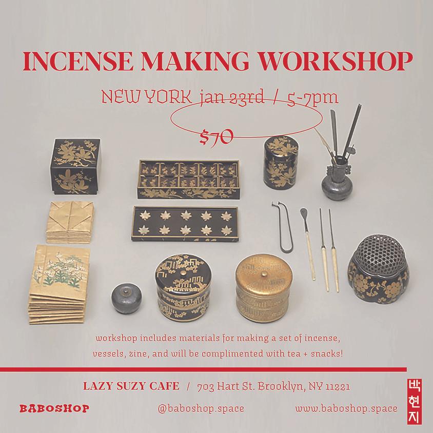 NY Incense Making Workshop