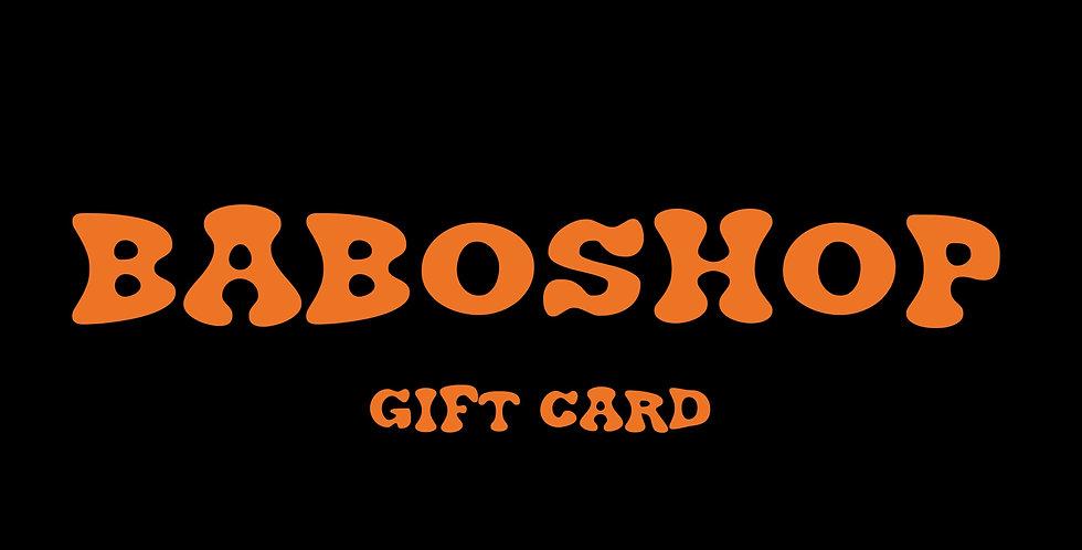 BABOSHOP Gift Card