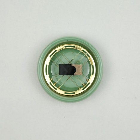 place on a holder to turn white