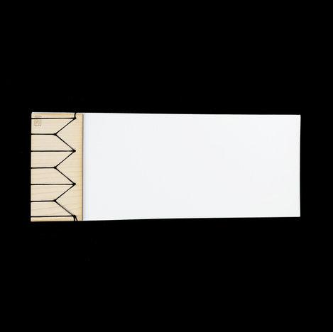 Stab Bound Maple Wood Journal