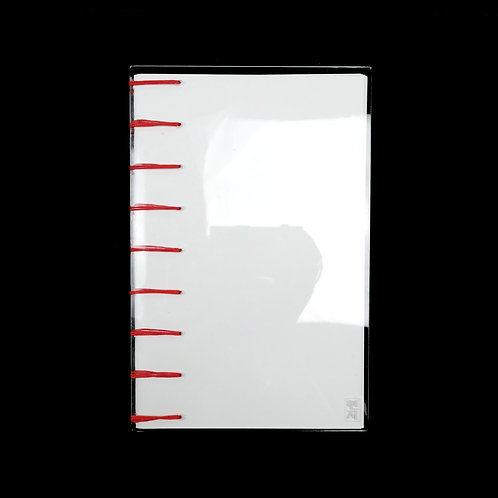 WHOLESALE: Clear Acrylic Journal (L)