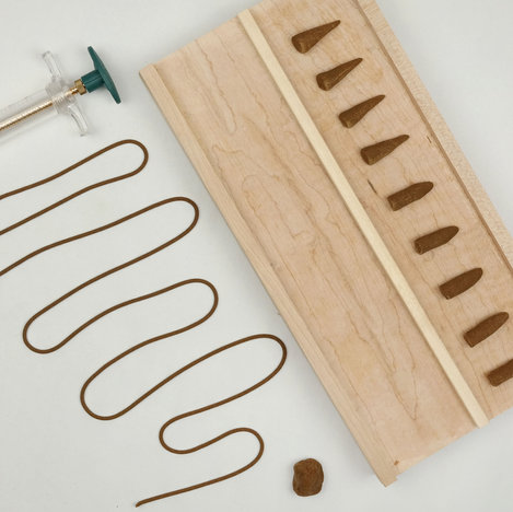or an extruder for sticks