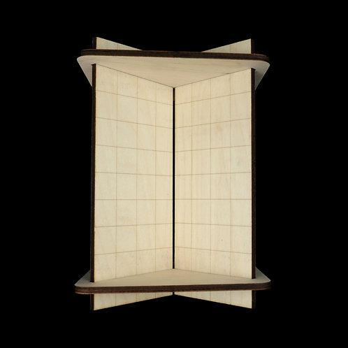 Birch Wood Bookbinding Cradle