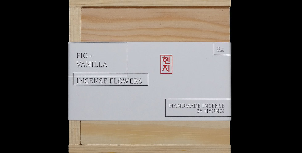 WHOLESALE: Fig + Vanilla Incense Flowers