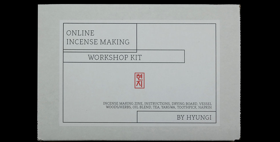 Online Incense Making Kit for Workshop