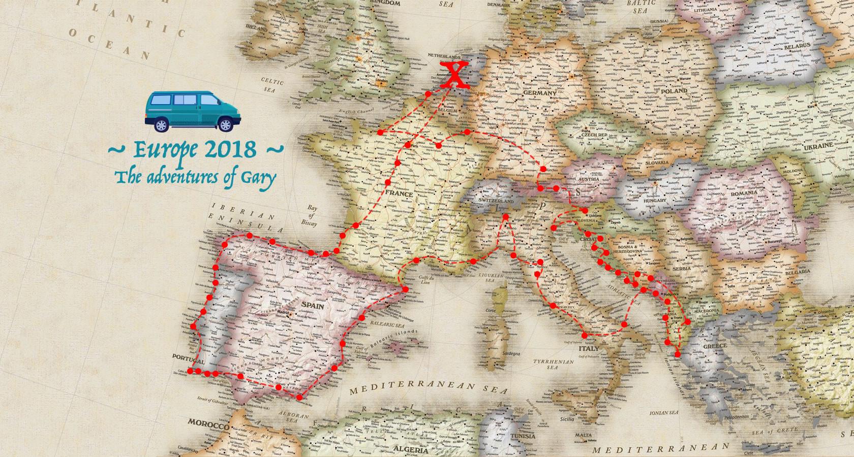 Europe 2018 Trip