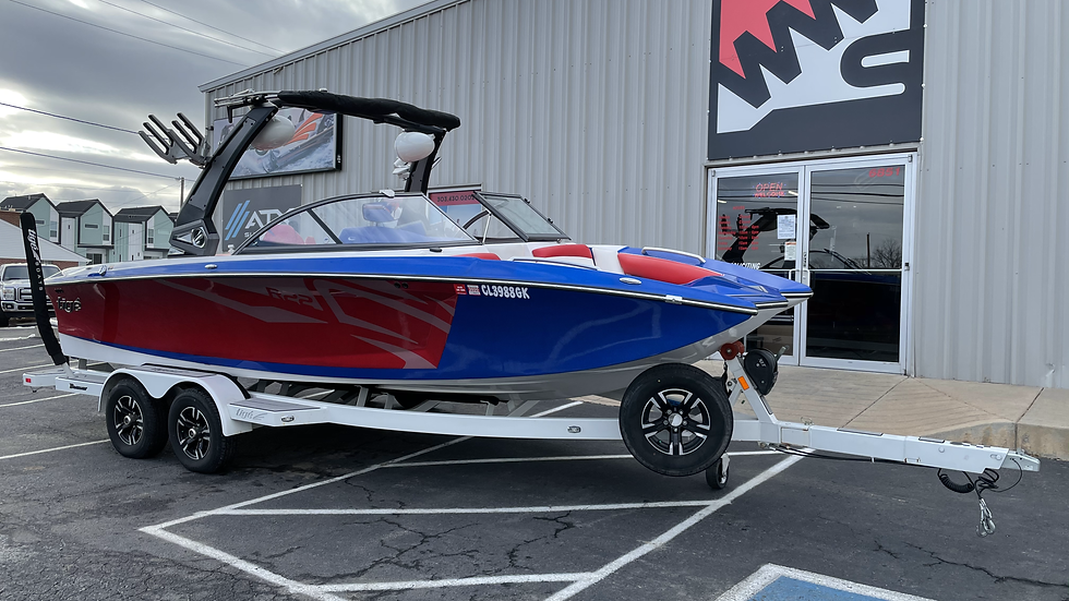2018 Tige R22 with E2 Power Tower