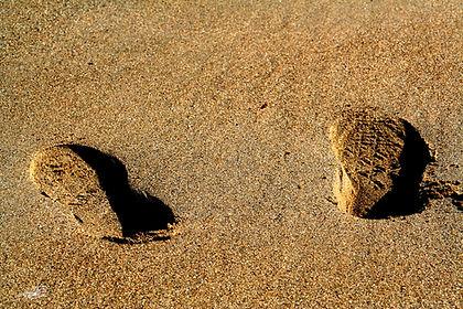 Les pieds a saint malo en Bretagne. Abstrait.