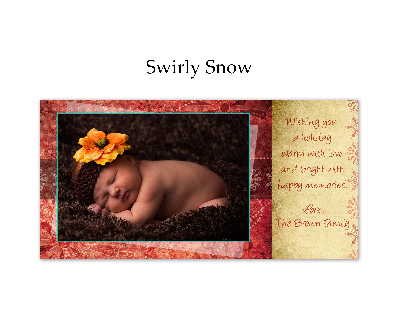 Swirly Snow