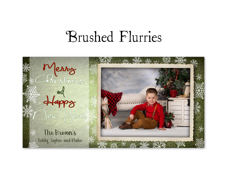 Brushed Flurries