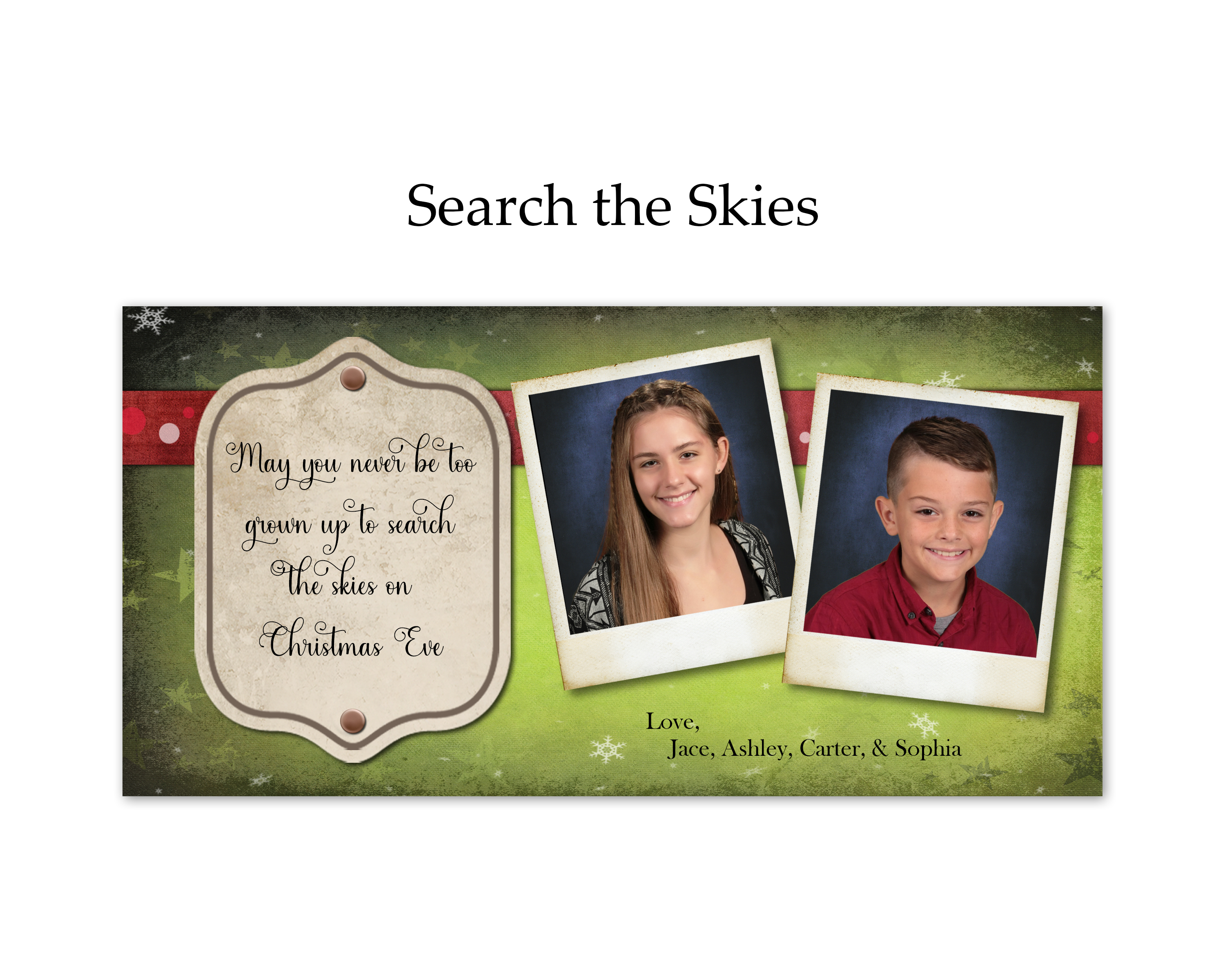 Search the Skies
