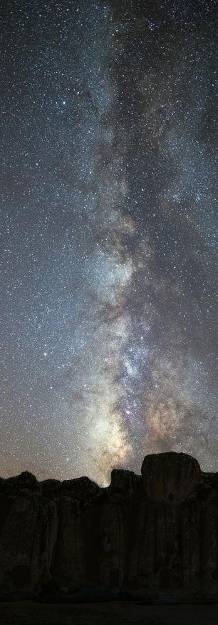 Stone City Milky Way