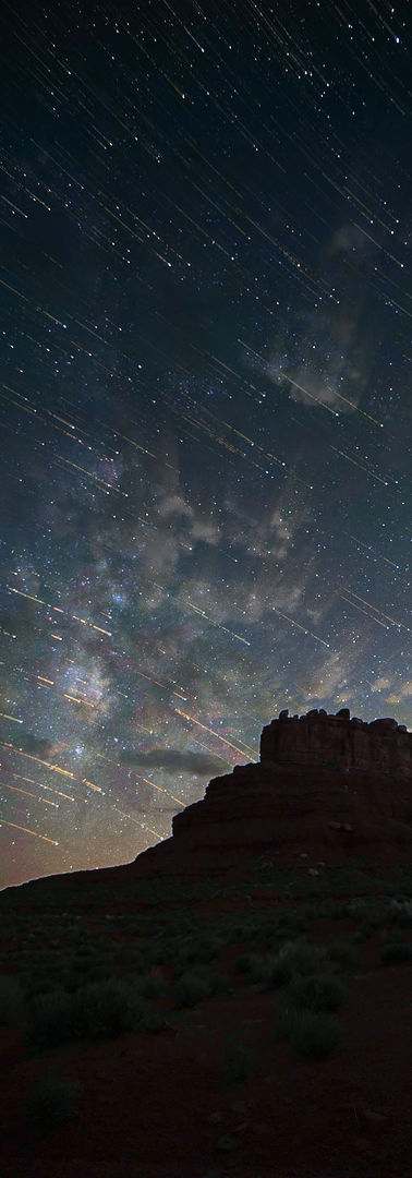 Valley of the Gods Star Trails