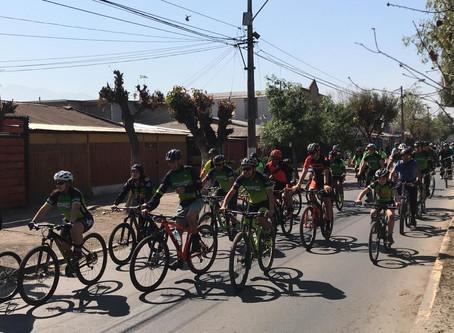 Con cicletadas El Bosque festejó el Día Mundial Sin Autos