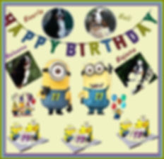 Herzlichen Glückwunsch zum 11. Geburtstag Baerle, Bali, Baloona und Bajana.
