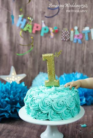 AmazingWedding1314 Cake Smash Session