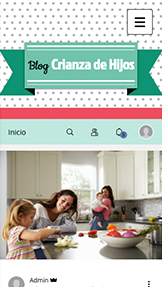 Blogs y Foros website templates – Blog de crianza de hijos
