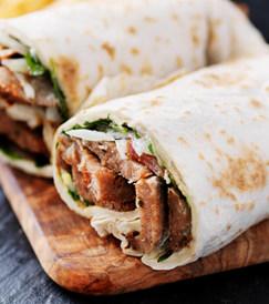 Beef Shawerma Sandwich