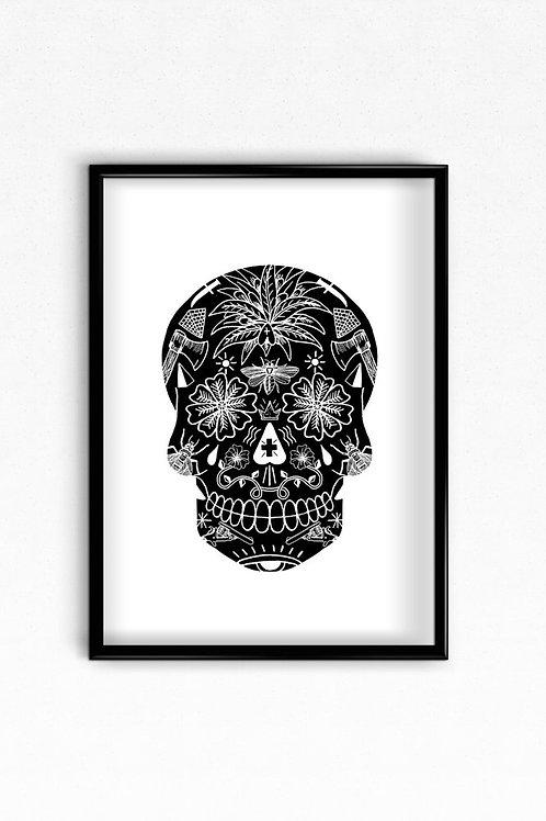 Black Skull By El Famoso
