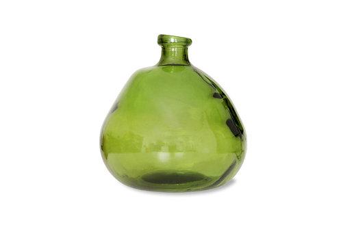 Wells Bubble Vase in Green