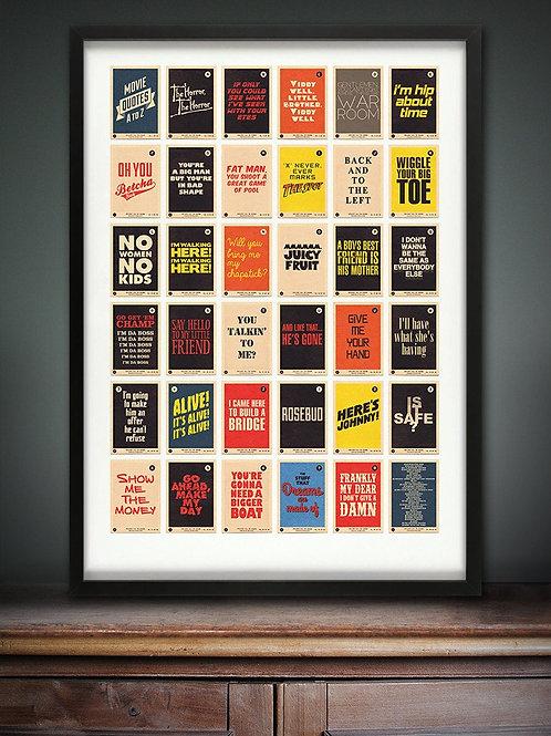 Movie Quotes in Colour