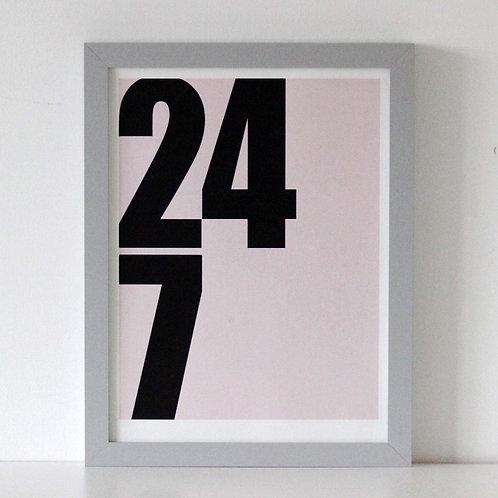 We Are Amused 24/7 Print