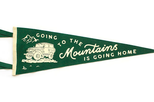 Oxford Pennant Going to the Mountains
