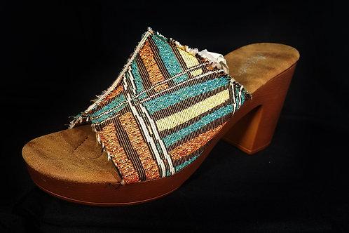 Avanti Slip-On Sandals (Multi Colored)