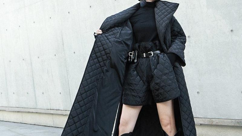 Terumi Oversized Cotton Padded Coat