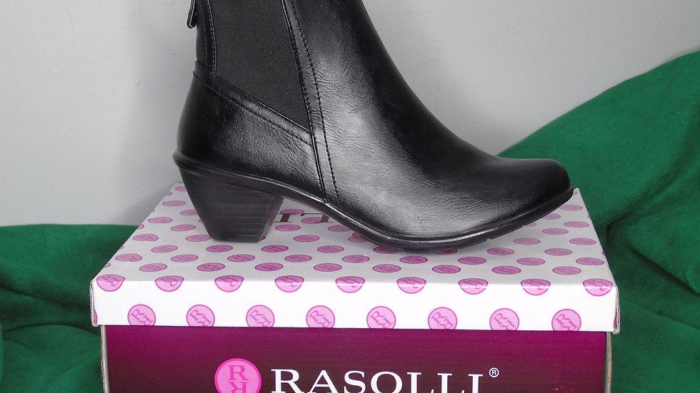 Rasolli Black Ankle Boots