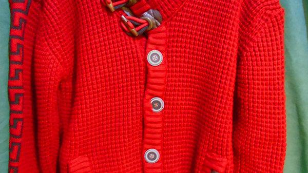 European Red Sweater