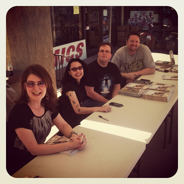 Outlaw Territory Signing in Tustin