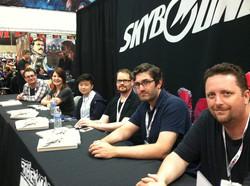 OT signing San Diego Comic Con