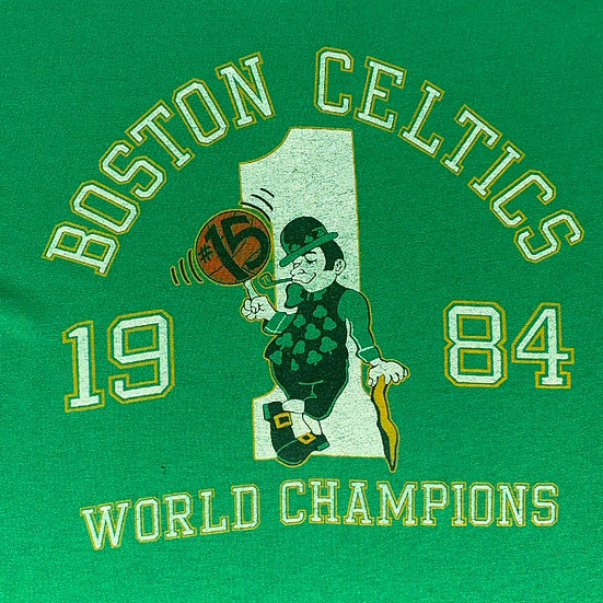 Boston Celtics World Champions (1984)