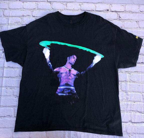 Travis Scott x McDonald's Action Figure Space T-Shirt