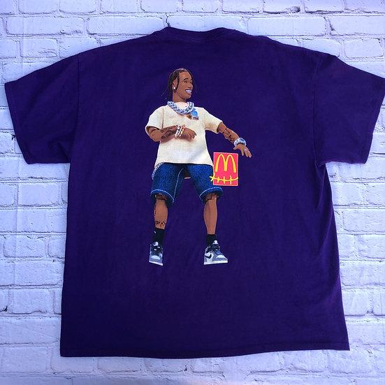 Travis Scott x McDonald's Purple T-Shirt