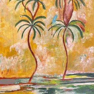 Hydra Palm Trees